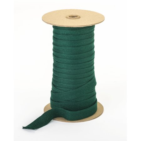 "Acrylic awning braid, 3/4"", 50 yds, Forest Green"