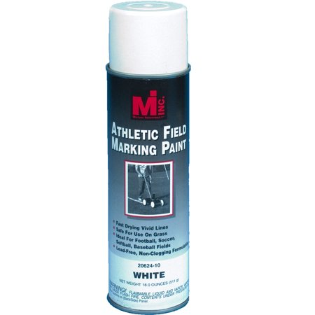 Athletic Field Striping Paint, White, 20 oz.