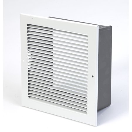 """Mutual Industries 260808 Louvered Vent, 8"""" x 8"""""""