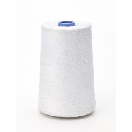 Matching thread, white, 6,000 yd spools.