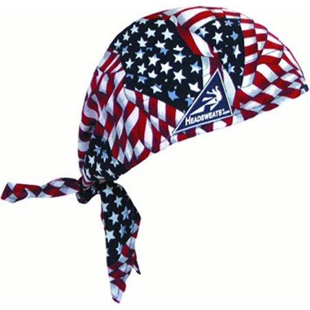 Cotton Head Wrap, American Flag