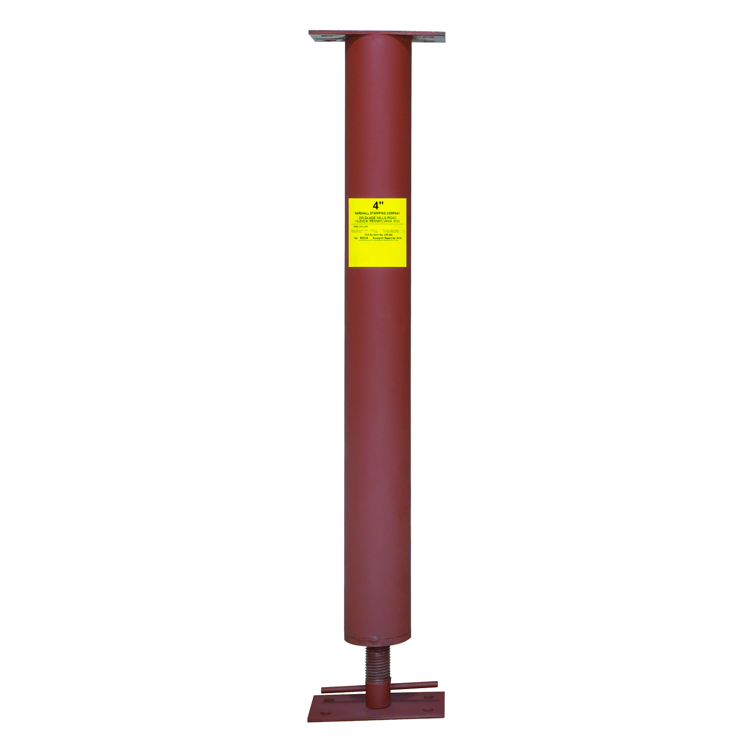 "Mutual Industries 70034-0-0 4"" Adjustable Column, 8' 6"" to 8' 10"""