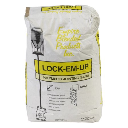 Mutual Industries 7016-0-0 Lock-EM-Up Paver Sand, Tan