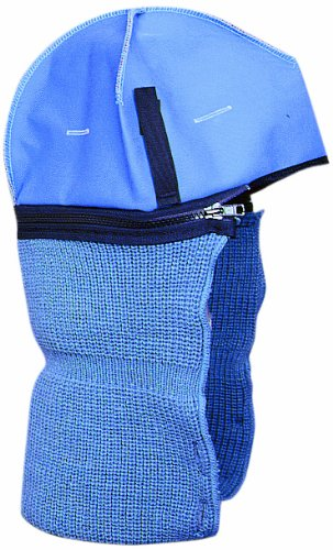 #44 Tundra Twill Cap Hard Hat Winter Liner, Fleece Lining, Postman Blue