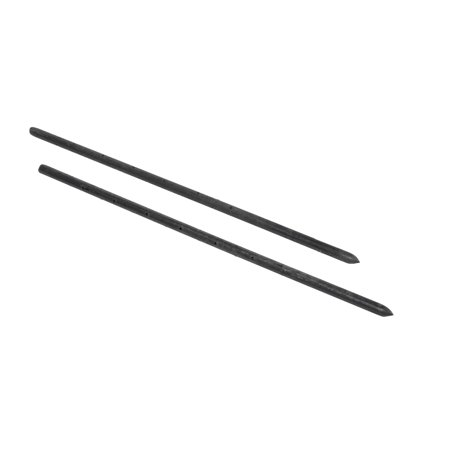 "Mutual Industries 7500-0-24 Nail Stake with Holes, 24"" x 3/4"""