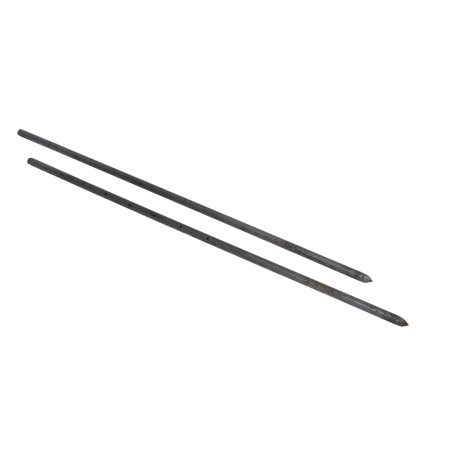 10, 42 in X 3/4 in Nail Stakes With Holes