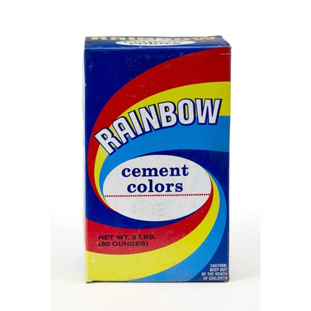 Mutual Industries 9006-0-5 Rainbow Cement Color,  5 lb., LP Yellow