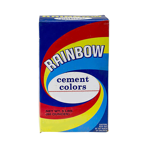 5 lb Box of Rainbow Color - Cement Red
