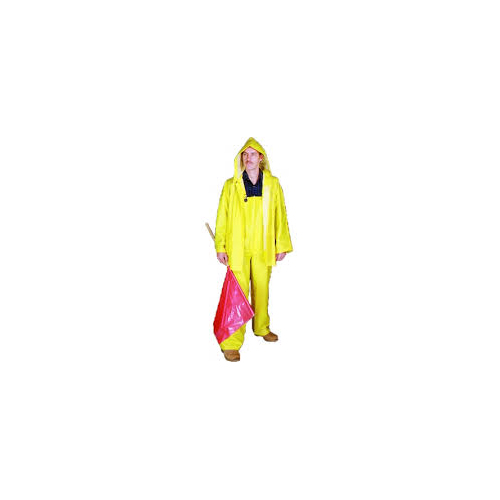 PVC/Polyester 3 Piece Rainsuit, 0.35 mm, 3X-Large