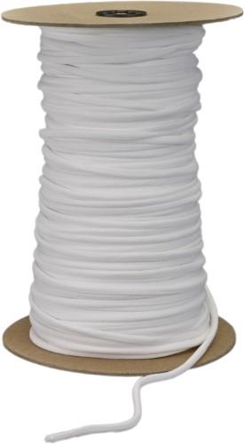 Stretch spaghetti, White - 15 yards