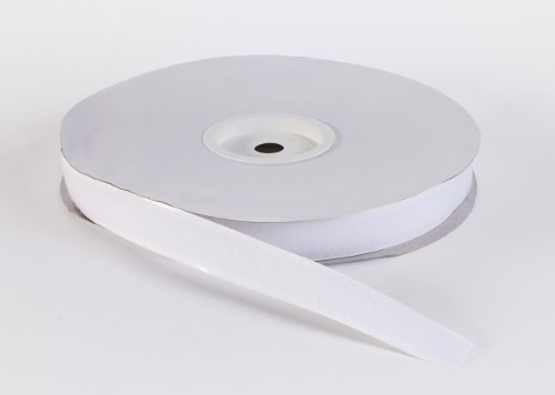 Adhesive loop tape, 1 in, 3 yds, White