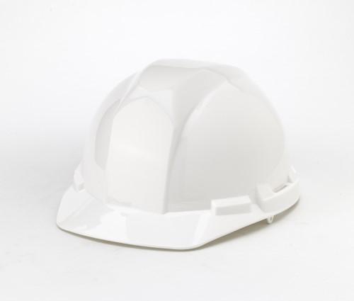 Hard Hat, 6-Point Ratchet Suspension, White