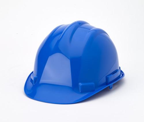 Hard Hat, 6-Point Ratchet Suspension, Blue