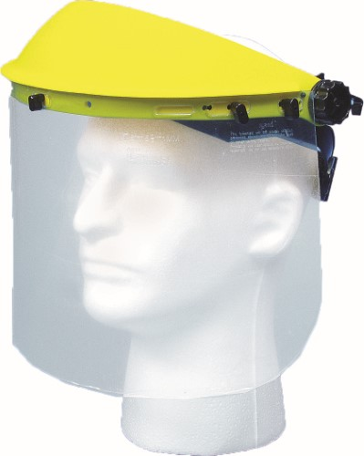Plastic Face Shield with Visor