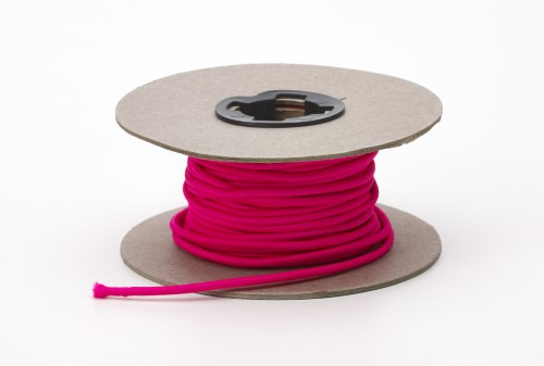 Shock cord, .125 in Wide, 15 yds, Neon Pink