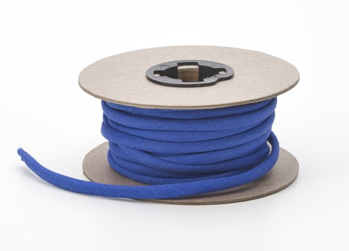Broadcloth spaghetti, 1/4 in Wide, 15 yds, Cobalt