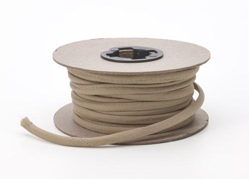 Broadcloth spaghetti, 1/4 in Wide, 25 yds, Khaki