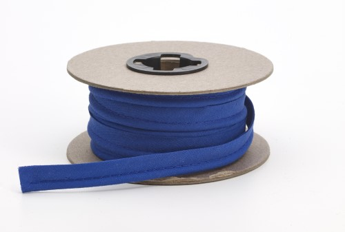 Broadcloth cord piping, 1/2 in Wide, 25 yds, Cobalt