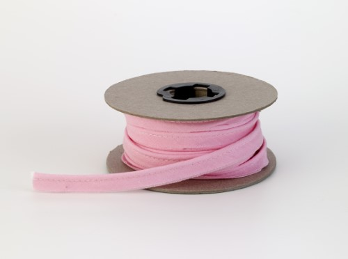 Broadcloth cord piping, 1/2 in Wide, 25 yds, Pink