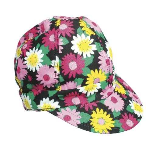 Kromer Welder Cap, Cotton, Length 5 in, Width 6 in- 1size, Wild Flower