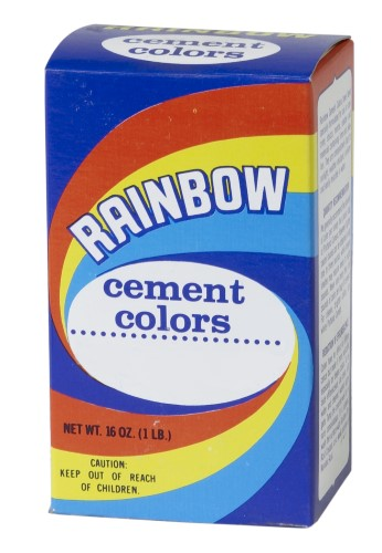 1 lb Box of Rainbow Color - Cement Blue