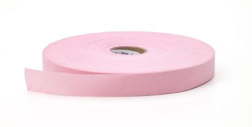 Broadcloth flat bias binding, 1.25 in Wide, 25 yds, Pink