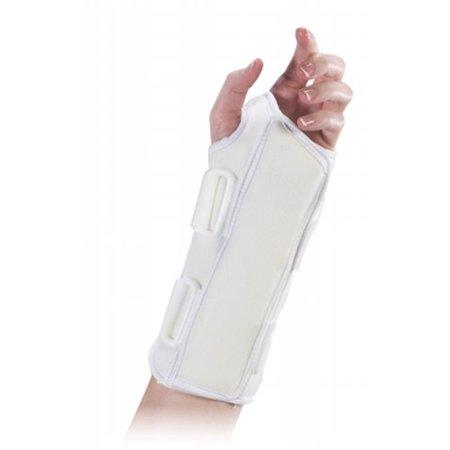 8 in Universal Wrist Splint - Left -White