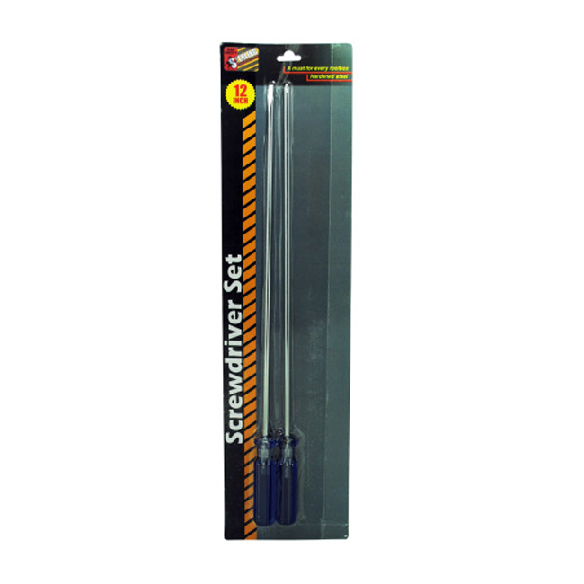 12 Screwdriver Set Pack of 8