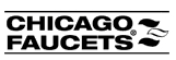 CHICAGO FAUCET COMPANY