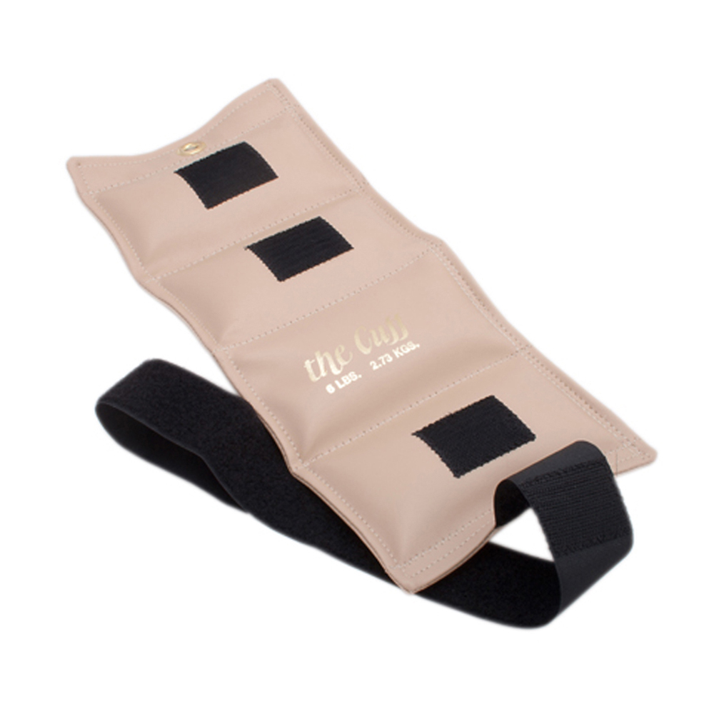 The Original Fitness Gym Cuff Ankle and Wrist Weight 6 lb Beige