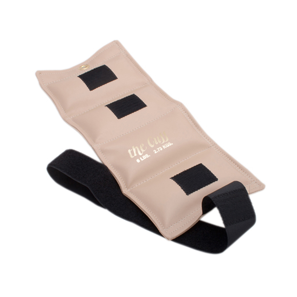 The Deluxe Cuff Ankle and Wrist Weight - 6 lb - Beige
