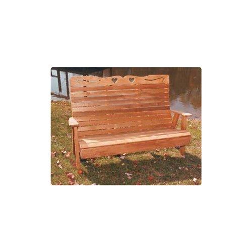 4' Royal Highback Sweetheart Bench