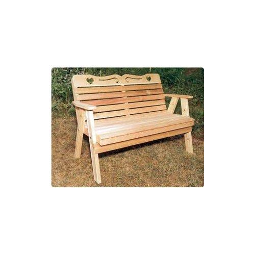 4' Sweetheart Bench
