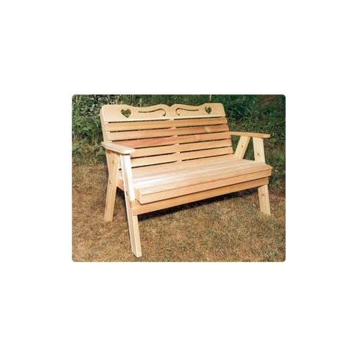 5' Sweetheart Bench