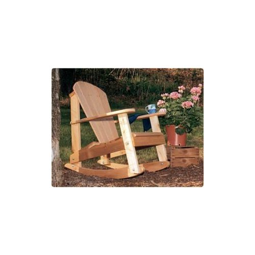 Southern Adirondack Rocking Chair