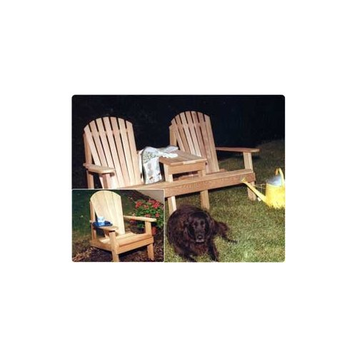 Southern Adirondack Settee Chair