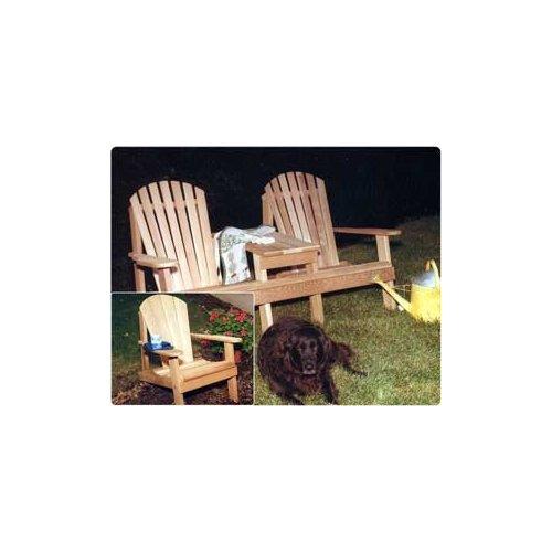 Southern Adirondack Settee Chair