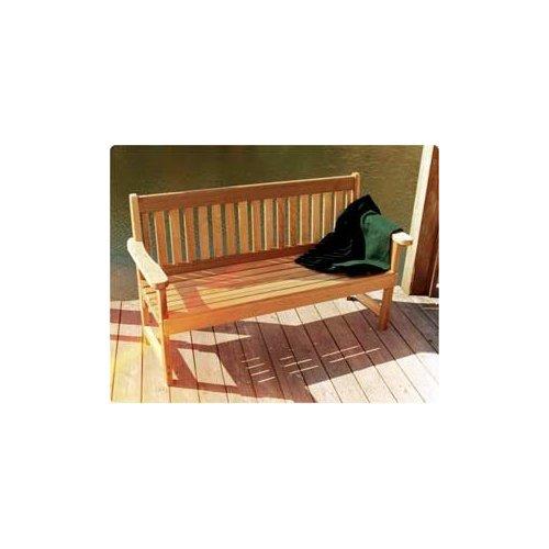 4' English Garden Bench