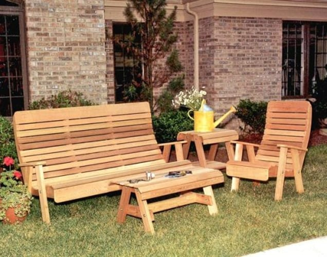 Royal Highback Garden Bench Collection