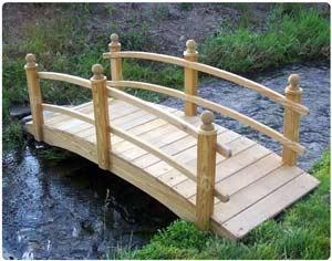 Bridge, 10' Amelia Garden Bridge
