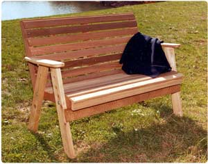 4' American Classic Bench