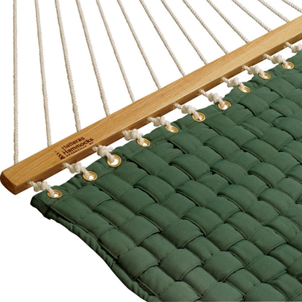Large Softweave Quilted Hammock - Green
