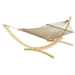 Deluxe DuraCord Rope Hammock - Antique Brown