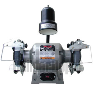 "TD 6"" Bench Grinder with light UL"