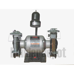 """TD Industrial 6"""" Bench grinder with wire wheel"""