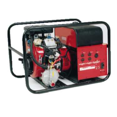 Tri-fuel portable generator: max power of 9000w, continuous power of 8000w