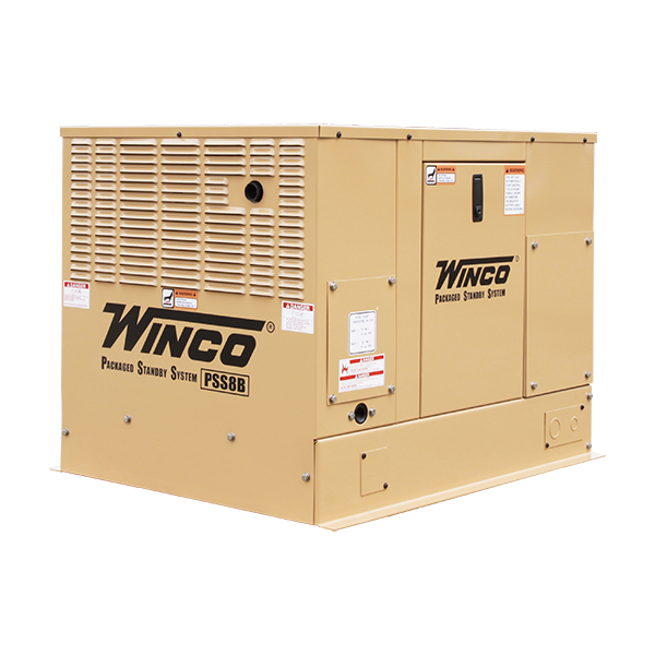 Packaged Standby Generator, 8kw
