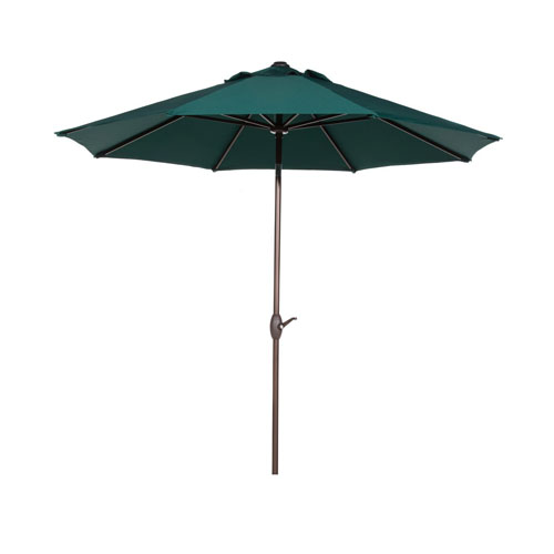 WINDBRELLA™ Auto-Tilt 9-foot Patio/Market Umbrella - Hunter Green