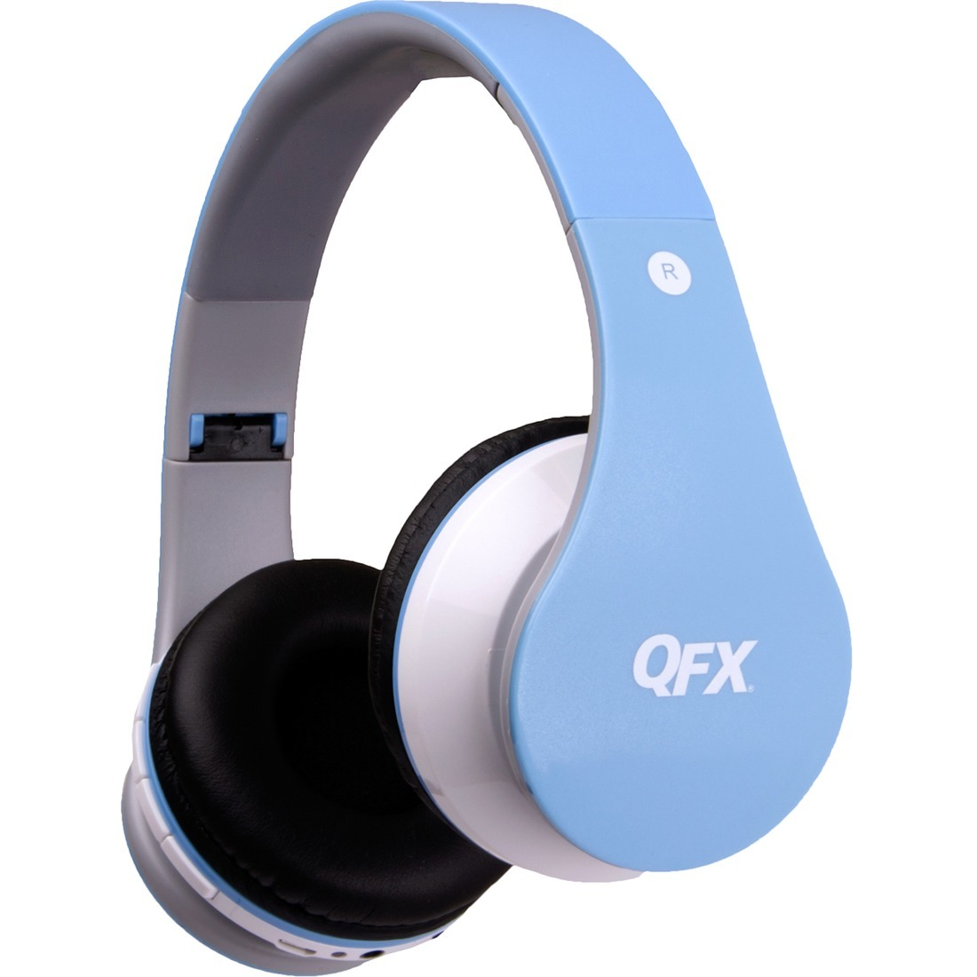 (Open Box)BT Stereo Headphones w Mic Blue