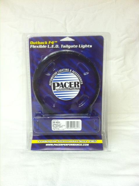 """F4 Flexible LED Tailgate Lights model 20-821, 60"""" length"""